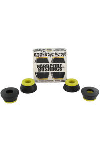 Bones 91A Hardcore-Medium Lenkgummi (black yellow) 2er Pack