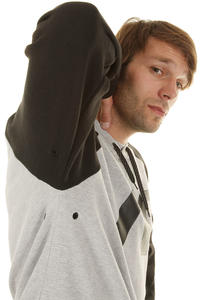 Analog Reply Snow Hoodie (true black)