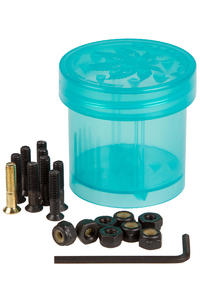 "Diamond Hella Tight Pudwill 7/8"" Bolt Pack inkl. Grinder (blue) Flathead (countersunk) allen"