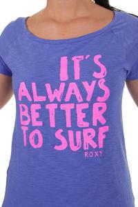 Roxy Forever Young Neon T-Shirt women (amparo blue)