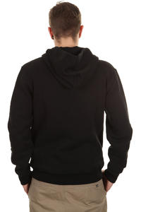 Quiksilver Corporate Lettring Zip-Hoodie (black)