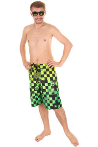 Vans Off The Wall Boardshorts (lime punch check)