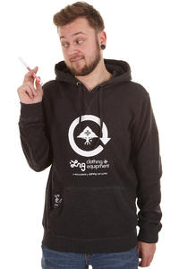 LRG Basic Hoodie (black heather)