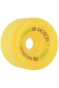 Metro Wheels Motion 70mm 78A Rollen (yellow) 4er Pack