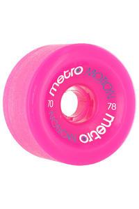 Metro Wheels Motion 70mm 78A Rollen (pink) 4er Pack