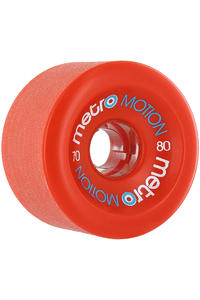 Metro Wheels Motion 70mm 80A Rollen (red) 4er Pack