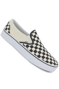 Vans Classic Slip-On Shoe (black and white checker white)
