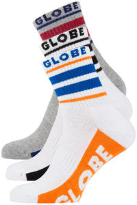 Globe Bueller Socks US 7-11 (multi) 5 Pack