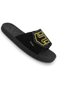 Etnies Iconic Sandale (black grey yellow)