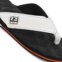 Globe Bumps Sandale (white black rust)
