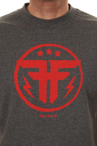 Fallen Defiance T-Shirt (heather charcoal red)