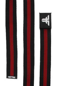 Fallen Trademark Nylon Gürtel (black red stripe)