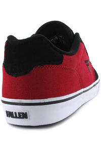 Fallen Slash Shoe (black red)