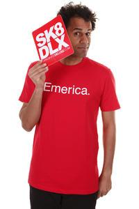 Emerica Pure 12 T-Shirt (red white)