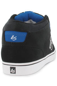 éS Bedford Mid Schuh (black white royal)