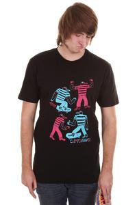 Cleptomanicx Musgull T-Shirt (black)
