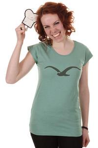 Cleptomanicx Möwe Scoop T-Shirt women (heather beryl green)