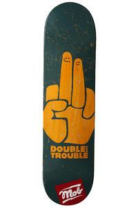 """MOB Skateboards Double Trouble 8"""" Deck (ocean)"""