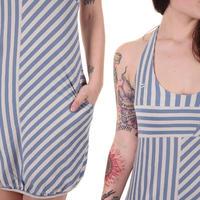 Ragwear Def Dress A Kleid women (blue cloud stripes)