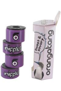 Orangatang 87A Nipples Lenkgummi (purple) 2er Pack