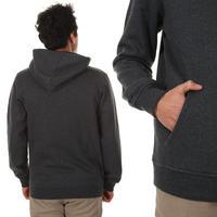Nike SB Logo Zip-Hoodie (black heather)
