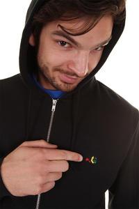 Enjoi Panda Patch Zip-Hoodie (black)