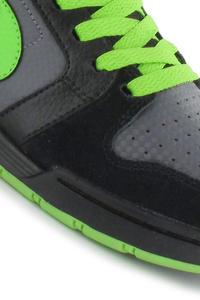 Nike SB Mogan 3 Shoe kids (black action green dark grey)