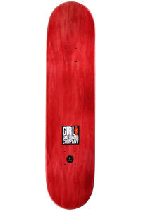 """Girl Biebel Down For Life 8"""" Deck (multi)"""