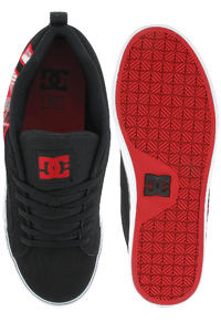 DC Court Vulc SE Shoe (black plaid)