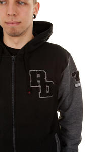Red Dragon Riverdale Zip-Hoodie (black dark greymottle)