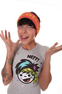 Neff Rufia T-Shirt women (athletic heather)
