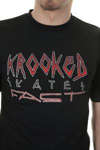 Krooked Skates Fast T-Shirt (black)