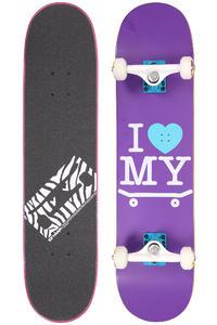 """Trap Skateboards I Love My Board 7.5"""" Komplettboard (purple)"""
