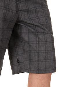 Volcom Frickin Plaid Shorts (charcoal heather)