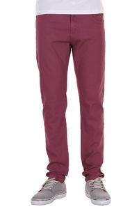Sweet Slim Colored Jeans (beaujolais)