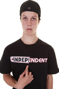 Independent Ripped T-Shirt (black)