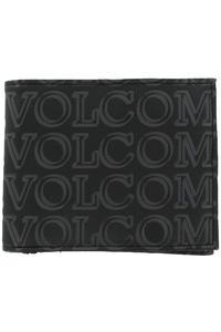 Volcom Boldface Large Wallet (black on black)