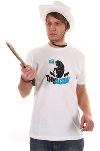 Iriedaily Try Again T-Shirt (white)