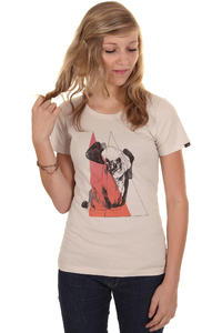 Forvert Kitty T-Shirt women (creme)