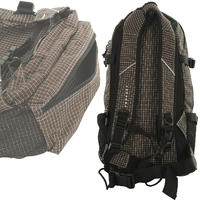 Forvert New Louis Rucksack (small brown checked)