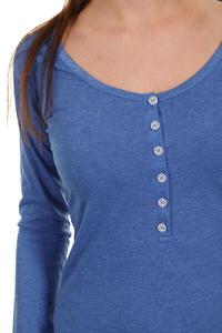 Iriedaily Serafina Longsleeve women (blue melange)