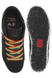 Element Billings 2 Suede Leather Shoe (black rasta)