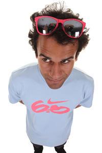 Nike SB Icon Standard Logo T-Shirt (blue grey fruit punch)