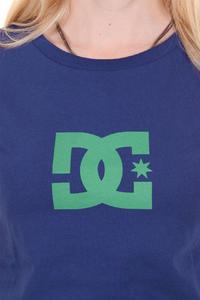 DC Worn In Crew Star T-Shirt women (blue print)