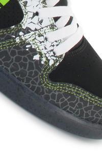 DC K. Block Union Schuh (black soft lime print)
