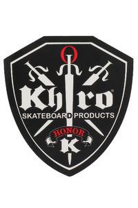 "Khiro 1/8""Drop Thru Shock Pad (black) 2 Pack"