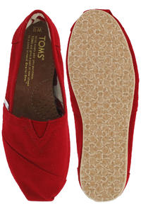 Toms Classics Canvas Shoe women (red)
