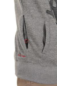 Red Dragon Mega OG Patch Zip-Hoodie (greymottled charcoal)