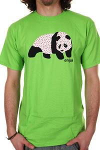 Enjoi Sick Panda T-Shirt (lime)