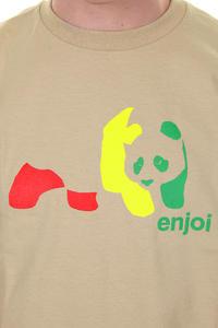 Enjoi Rasta Panda T-Shirt (camel)